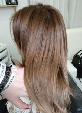 ботокс для волос на средние волосы